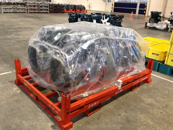 ถุงพลาสติกขนาดใหญ่สำหรับคลุมเครื่องยนต์