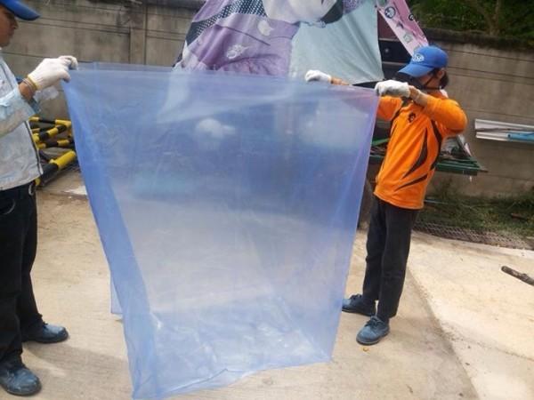 ถุงพลาสติกขนาดใหญ่-ถุงพลาสติกกันสนิม