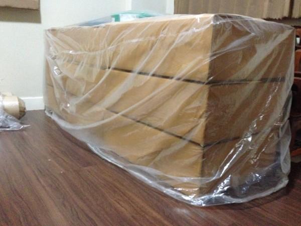 ถุงพลาสติกขนาดใหญ่-ถุงคลุมสินค้าแบบมีเชือก