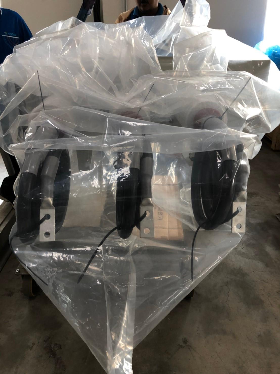 ตัวอย่างการใช้งานถุงพลาสติกขนาดใหญ่